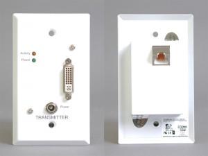 DVI-D送信側コンセントプレート