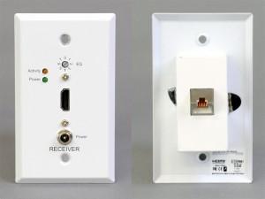 HDMI受信側コンセントプレート(アクティブ)