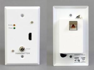 HDMI送信側コンセントプレート