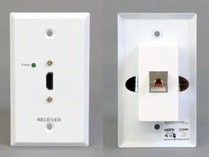 HDMI受信コンセントプレート(パッシブ)