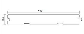 NM11MU オークワイド110フローリング(図)
