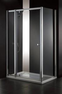 シャワーブースL型100サイズ