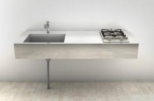 ミニマルキッチン1500×600