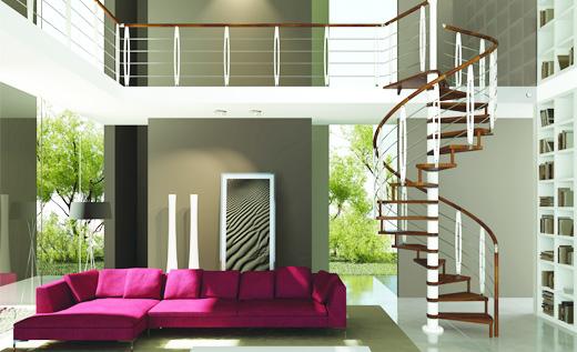 リンタル階段