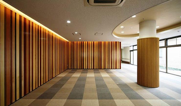 天然木単板(突板)貼りの不燃デザインパネル「リアルパネルシリーズ 2」