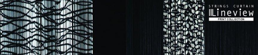 ストリングスカーテン プリントコレクション