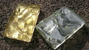 リサイクルガラスhaku