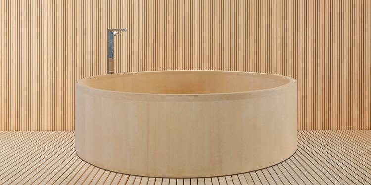 檜とFRPのハイブリット浴槽